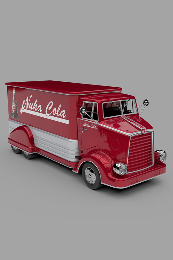 Exclusive Fallout Nuka Cola Die-Cast Delivery Truck