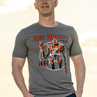 Red Rocket Robot Tee