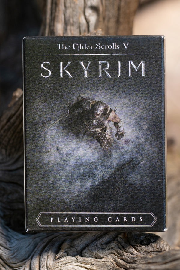 Skyrim Playing Cards