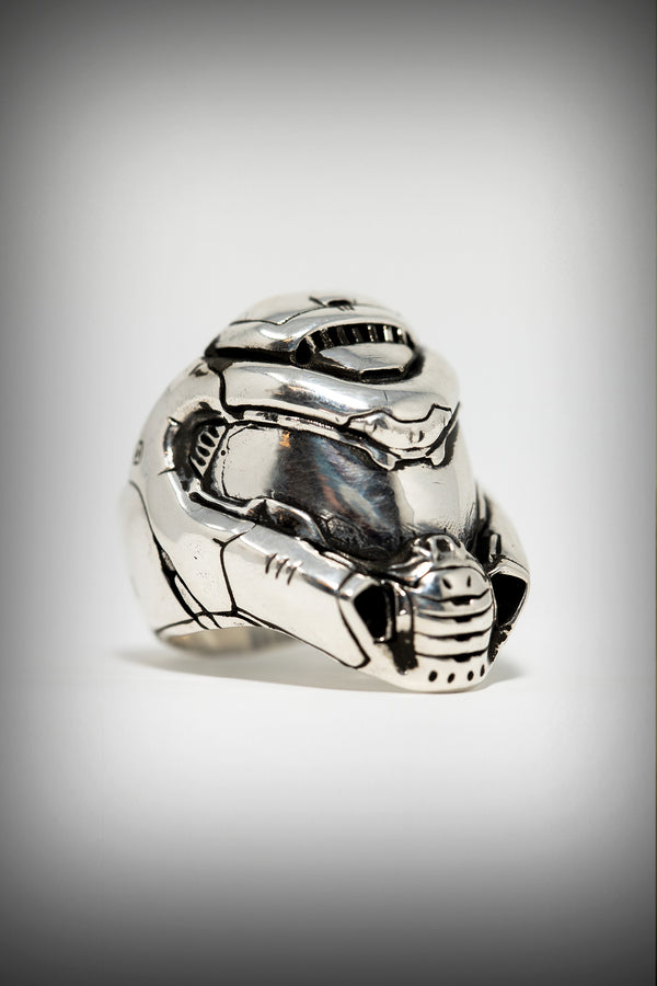 Slayer Helmet Ring Official Bethesda Gear Store