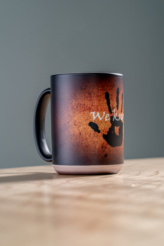 We Know Heat Changing Mug