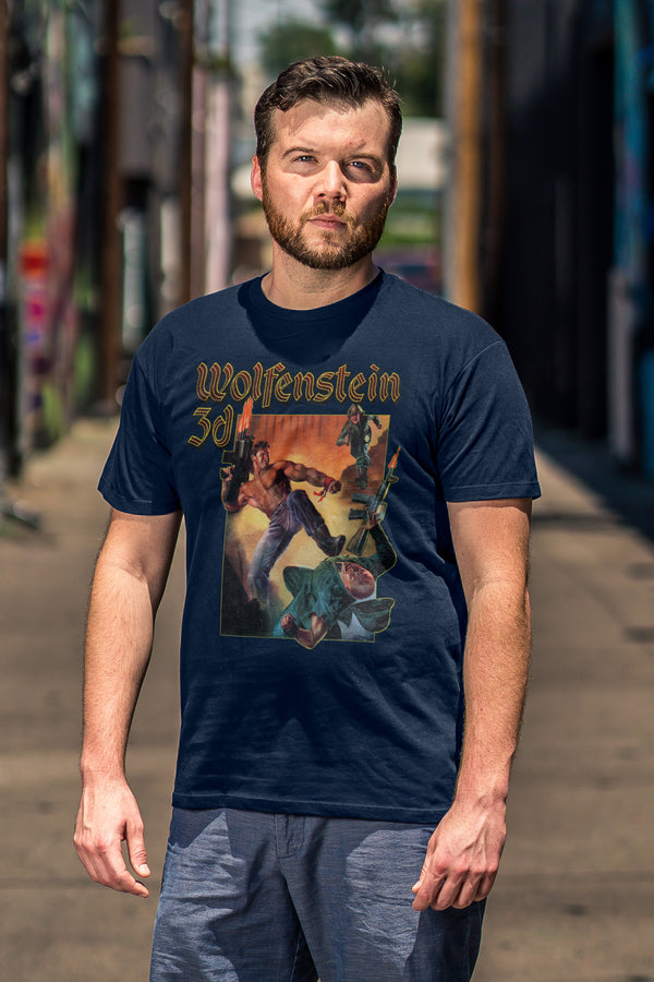 Wolfenstein 3D Box Art Tee