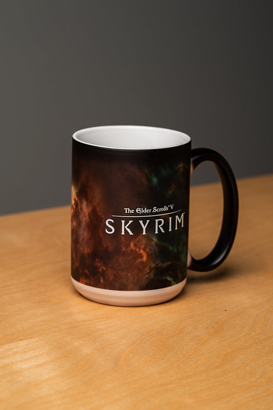 Skyrim Constellation Heat Changing Mug