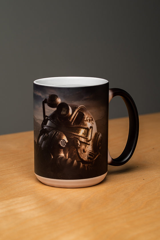Dawn Power Armor Heat Changing Mug