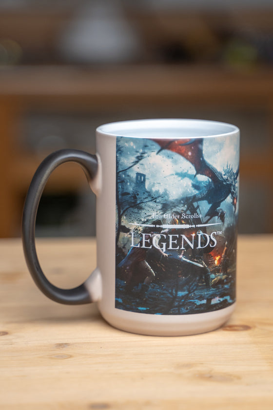 Legends Heat Changing Mug