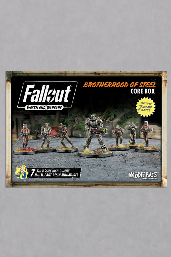 Fallout: Wasteland Warfare: Brotherhood of Steel Core Box