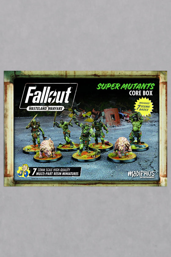 Fallout: Wasteland Warfare: Super Mutants Core Box