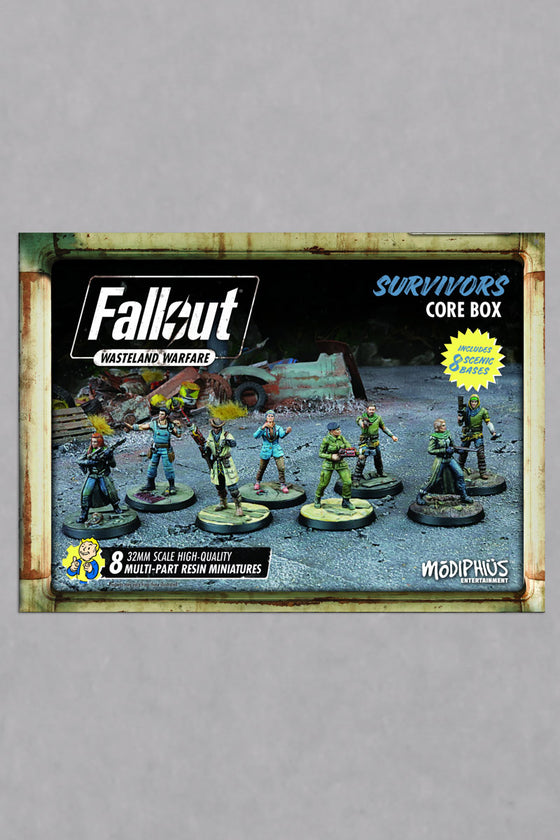 Fallout: Wasteland Warfare: Survivors Core Box
