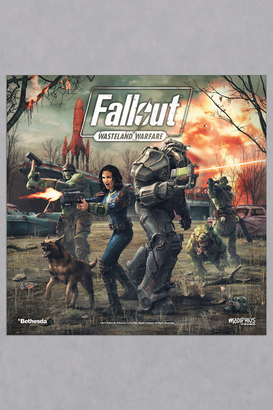 Fallout: Wasteland Warfare: Two Player PVC Starter Set