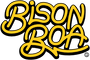Bison Boa brand logo | The world's best guitar straps and guitar pics.