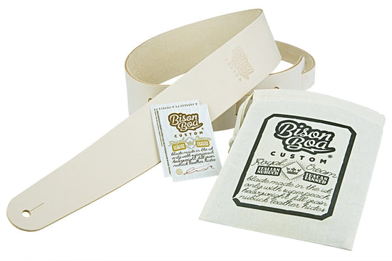 Guitar Straps - Royal Cream