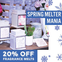 Spring-melter-mania-melt-sale-candle-warmers-Onalaska-wisconsin-treehouse