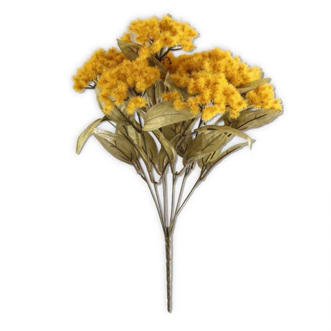 18 Inch Yellow Fall Thistle Bush - Treehouse Gift & Home