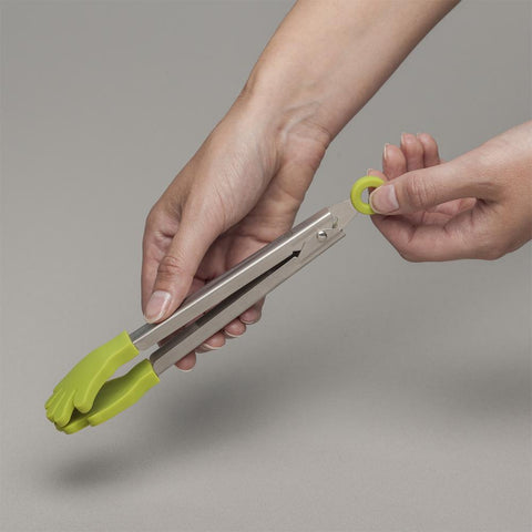 "7"" Silicone Handy Tongs - Treehouse Gift & Home"