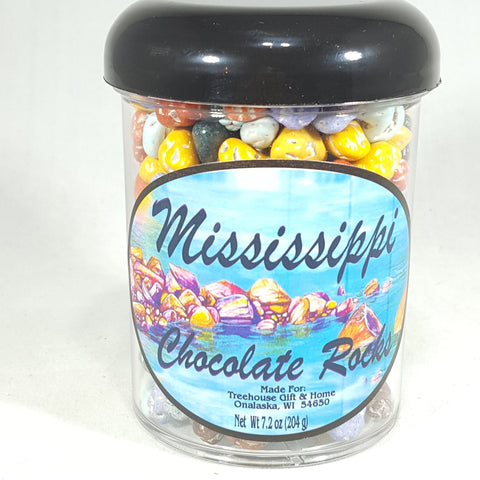 7.2 oz Chocolate River Rocks - Treehouse Gift & Home