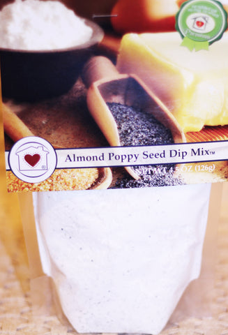 Almond Poppy Seed Dip Mix Country Home Creations