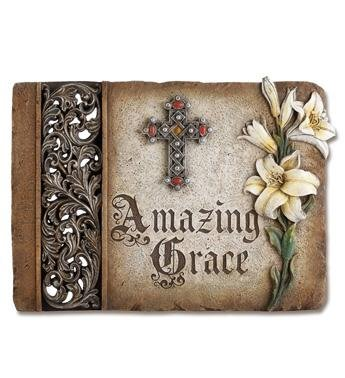 Amazing Grace Plaque - Treehouse Gift & Home