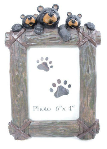 Bear Photo Frame 4x6 photo 10H - Treehouse Gift & Home
