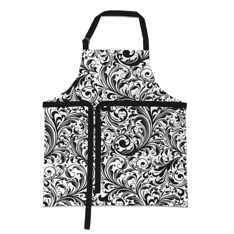 Black Florentine Apron - Treehouse Gift & Home