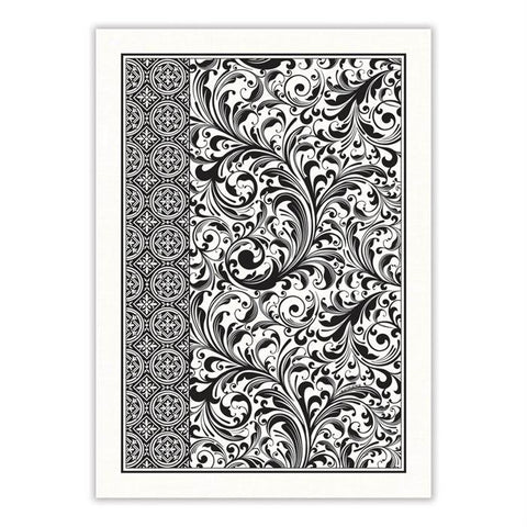 Black Florentine Kitchen Towel - Treehouse Gift & Home