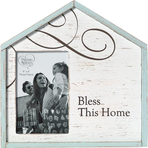 Bless This Home Photo Frame - Treehouse Gift & Home