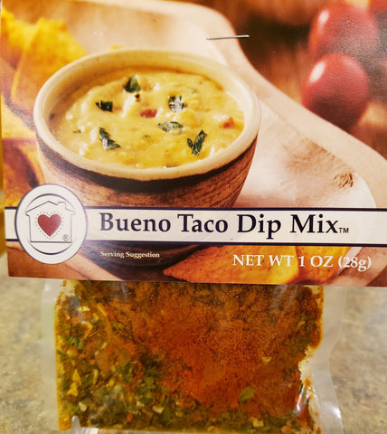 Bueno Taco Dip Mix Country Home Creations