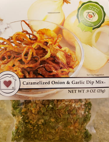 Caramelized Onion & Garlic Dip Mix Country Home Creations