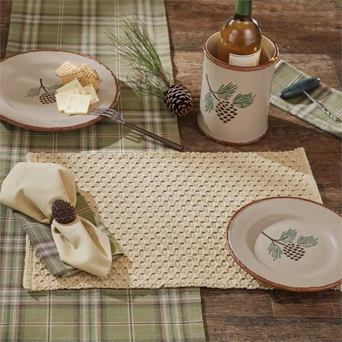 Chadwick Placemat Flax - Treehouse Gift & Home