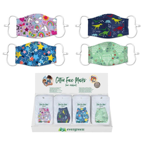 Children's Non-Medical Cotton Face Mask - Treehouse Gift & Home