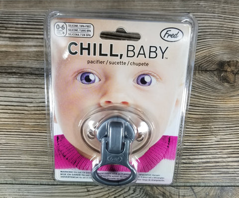Chill Baby Zip-It Pacifier Treehouse Gift & Home