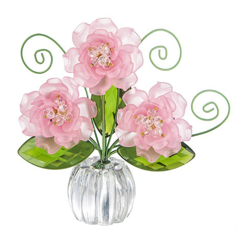 Copy of Copy of Pretty Petals Posy Pot - Pink Ganz