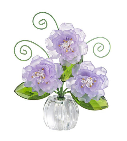 Copy of Pretty Petals Posy Pot - Purple Ganz