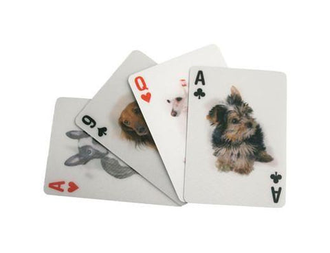 DOGS 3D PLAYING CARDS - Treehouse Gift & Home