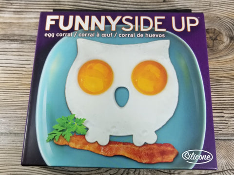 Funny Side Up - Owl Egg Mold - Treehouse Gift & Home