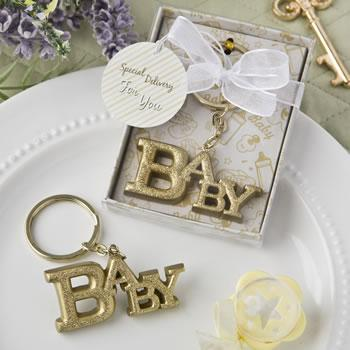 Gold Baby Key Chain - Treehouse Gift & Home