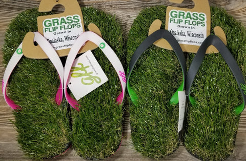 Grass Flip Flops - Treehouse Gift & Home