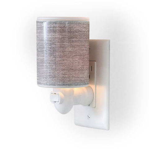 Gray Linen Outlet Plug-In Warmer - Treehouse Gift & Home