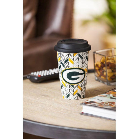 Just Add Color, Travel Cup, Chevron, Green Bay Pack - Treehouse Gift & Home