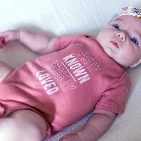 Known & Loved Onesie in Mauve EtchLife