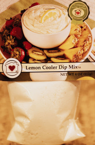 Lemon Cooler Dip Mix Country Home Creations