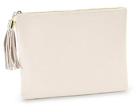 MILLER CLUTCH CARRYALL WHITE - Treehouse Gift & Home