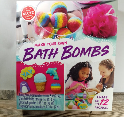 Make Your Own Bath Bombs Treehouse Gift & Home