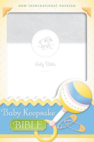 NIV BABY KEEPSAKE BIBLE - Treehouse Gift & Home