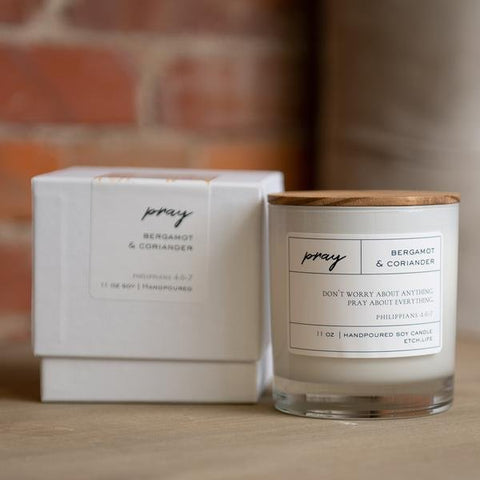 Pray Boxed Candle in 11 oz - Treehouse Gift & Home