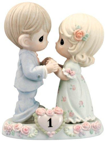 Precious Moments 1st Anniversary Couple Figurine - Treehouse Gift & Home