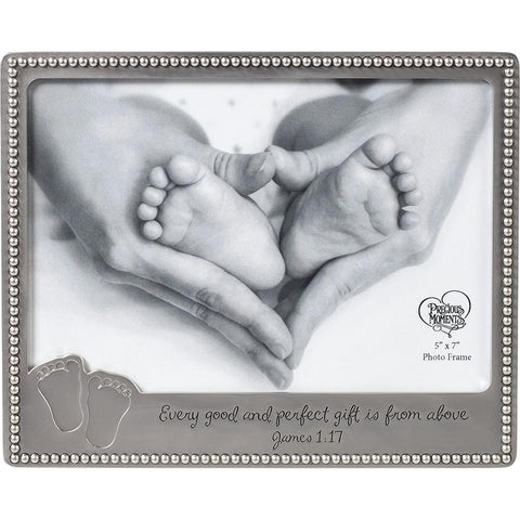 Precious Moments Baby Footprints Photo Frame - Treehouse Gift & Home