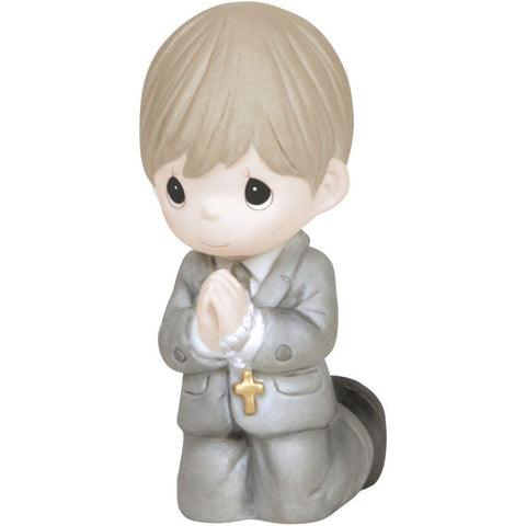 Precious Moments Boy Kneeling Communion Figurine - Treehouse Gift & Home