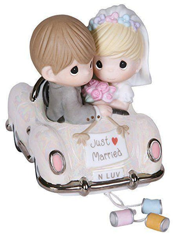 Precious Moments Bride And Groom In Car Figurine - Treehouse Gift & Home