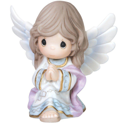 Precious Moments Kneeling Angel Figurine - Treehouse Gift & Home