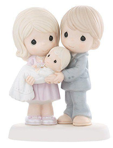 Precious Moments Parents Holding Baby Figurine - Treehouse Gift & Home